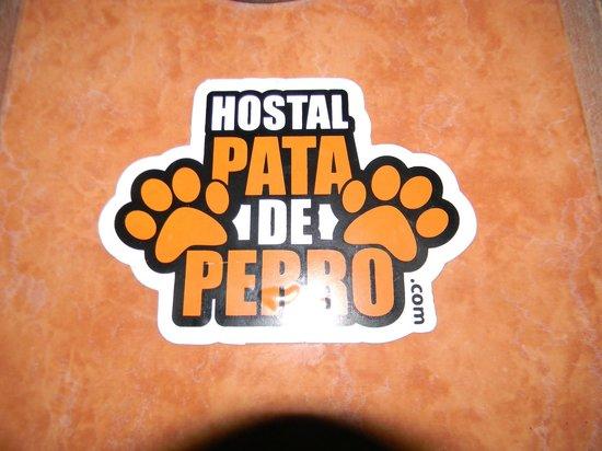 Hostal Pata de Perro: Logo del Hostal