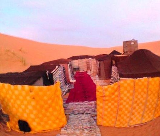 Moroccan Active Adventures : Traditional Berber Camp - Erg Chebbi