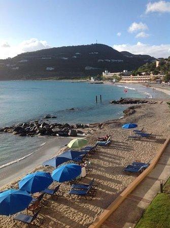 Divi Little Bay Beach Resort: Divi beach from our balcony
