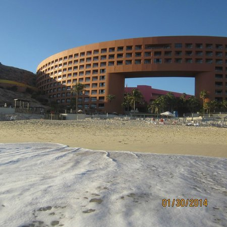 The Westin Los Cabos Resort Villas & Spa: View from the water.