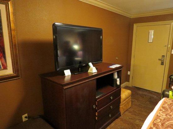 Best Western Plus French Quarter Landmark Hotel: TV