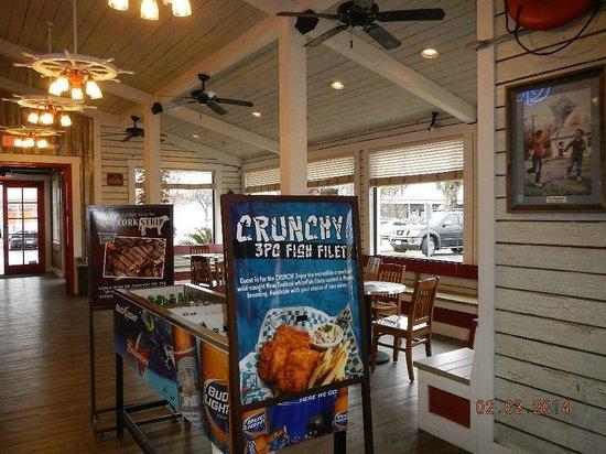 Sea Island Shrimp House: Entry View