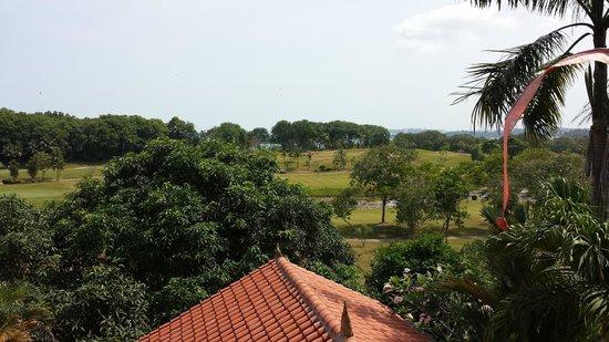 Tempat Senang Resort: view from upper room