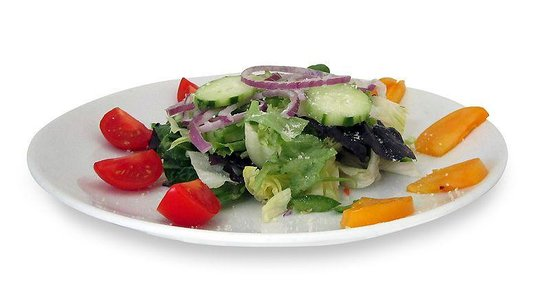 Stonington Pizza Palace: Tossed salad