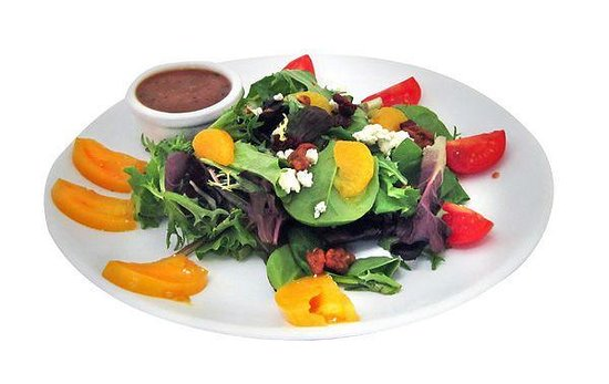 Stonington Pizza Palace: Field green salad