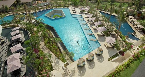 Kids and adults alike will love the pools here - This photo of RIMBA Jimbaran Bali by AYANA is courtesy of TripAdvisor