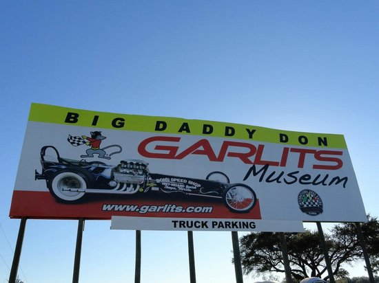 Don Garlits Museum of Drag Racing: Billboard from I-75