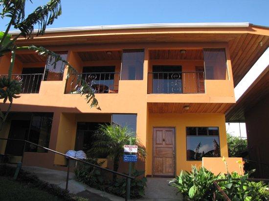 Hotel Cipreses Monteverde Costa Rica: Upper floor Rear Building
