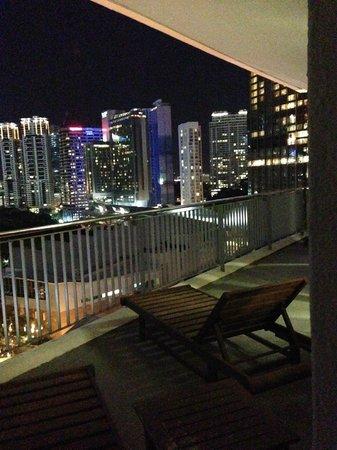 Ascott Kuala Lumpur : Balcony VIew