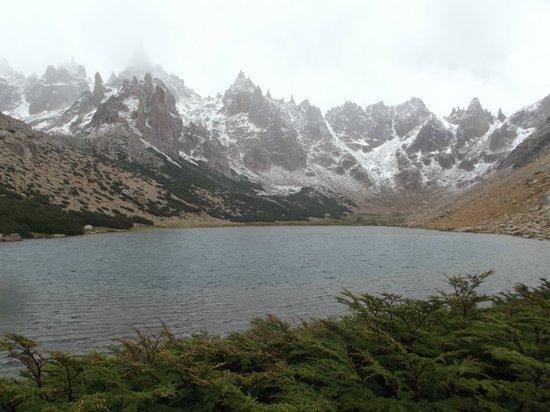 Refugio Frey : Laguna Toncek
