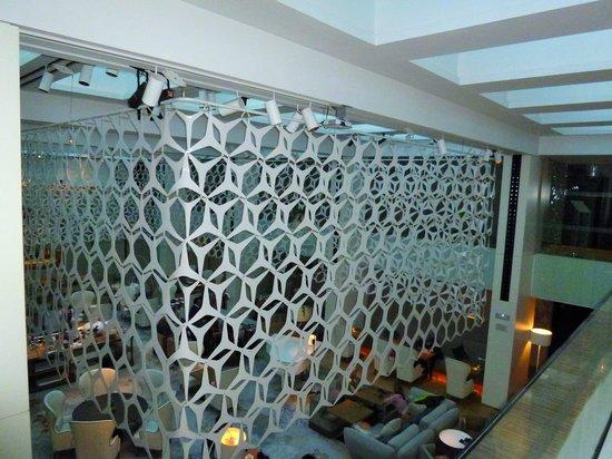 Mandarin Oriental, Barcelona: above the lounge
