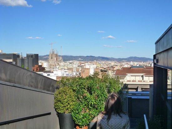 Mandarin Oriental, Barcelona: view from pool
