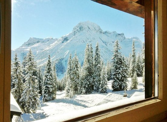 Hotel Petersboden: What a view