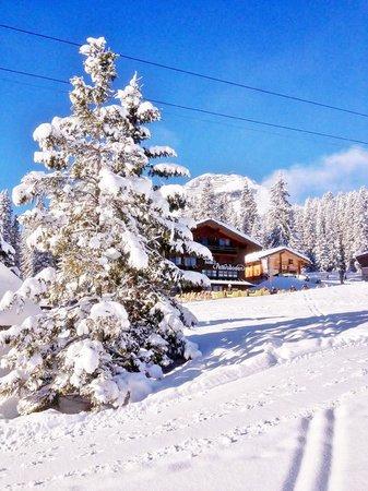 Hotel Petersboden: Winter wonderland