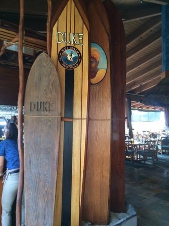 Duke's Beach House : Duke's boards