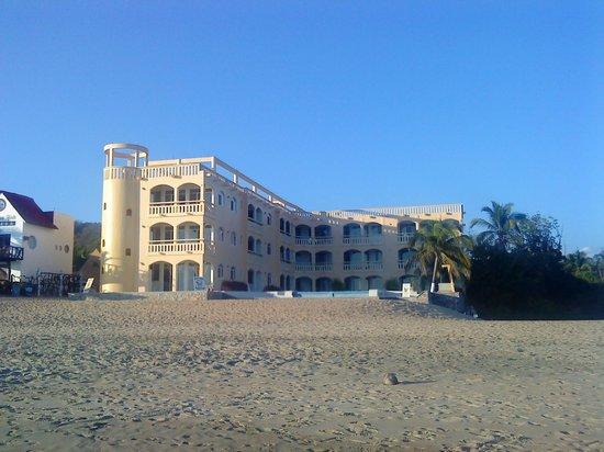 hotel en zipolite