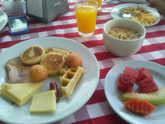 Hotel Casablanca: comida