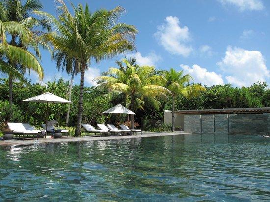 Park Hyatt Maldives Hadahaa : Spa pool