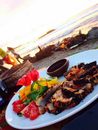 Te Moana: Seared tuna appetizer
