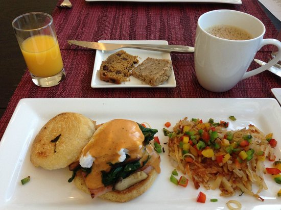 Olea Hotel: full 2 course breakfast