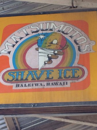 Matsumoto Shave Ice: The best Shave Ice in Haleiwa!