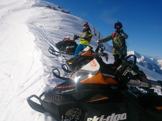 Snow Peak Rentals : Scott and I on one of mike's tours