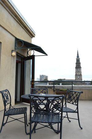 French Quarter Inn: Our balcony