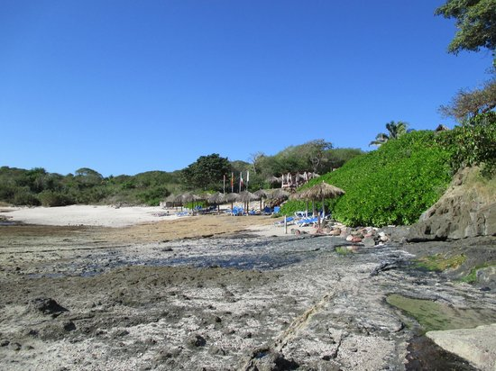 The Royal Suites Punta de Mita by Palladium: Beach in front of the Royal Suites