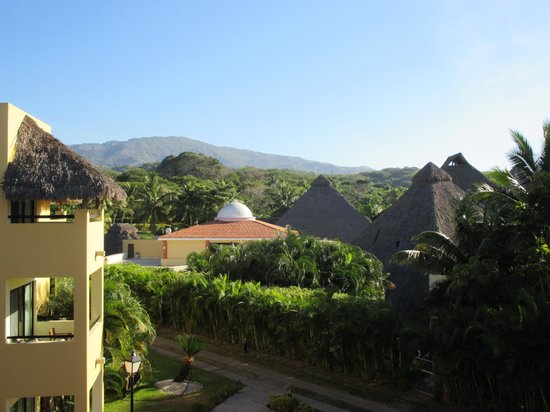 The Royal Suites Punta de Mita: View from the room, looking away from the water