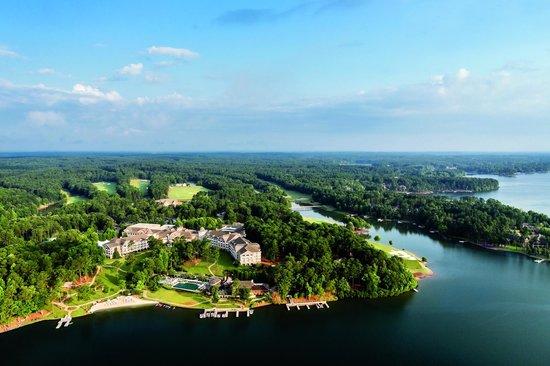 The Ritz-Carlton Reynolds, Lake Oconee: Resort Ariel View