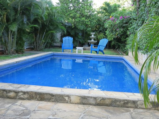 La Posada Azul: Pool area - very pretty