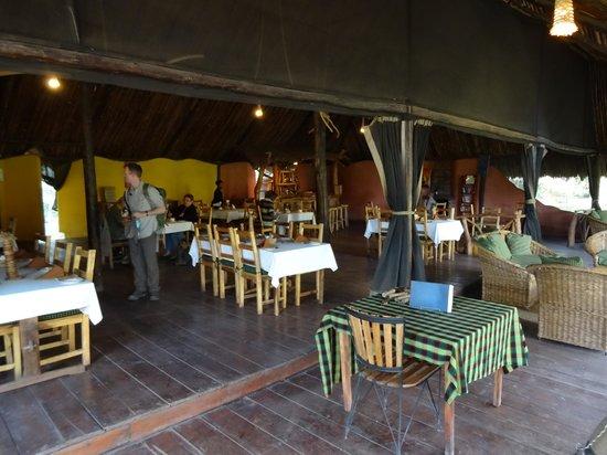 Migunga Tented Camp: Dining area