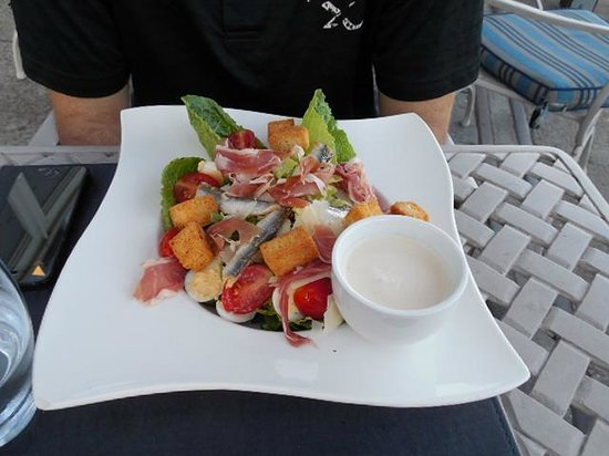 Victoria & Alfred Hotel : Caesar salad- it was ok.