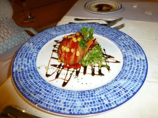 Marquis Los Cabos All-Inclusive Resort & Spa: crab cakes