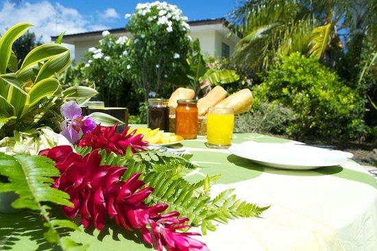 Pension Ahitea Lodge : breakfast