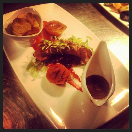 Cafe Bleu: Smocked Venison , gorgeous ! :)
