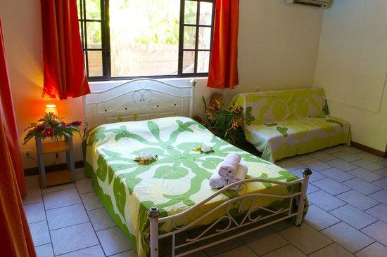 Pension Ahitea Lodge : chambre