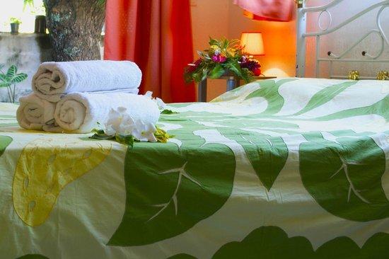 Pension Ahitea Lodge : chambre double