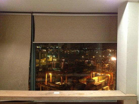 Mexan Harbour Hotel: 部屋からの夜景