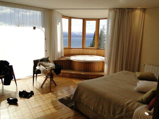 Design Suites Bariloche: quarto no qual eu fiquei