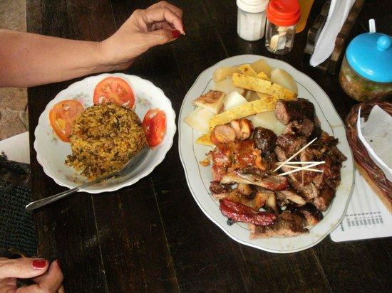 Parque Nacional de Chicamocha : Comida típica