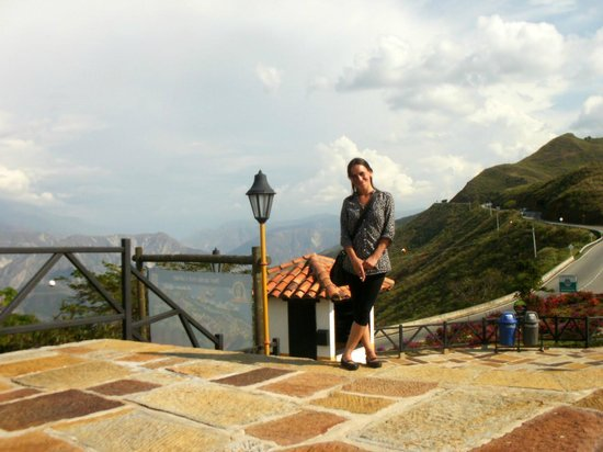 Parque Nacional de Chicamocha : Pleno cielo