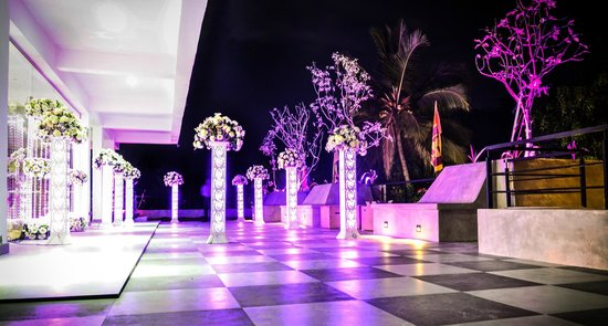 Hotel Sunrich : terrace