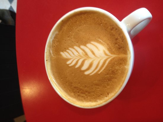 UKEE DOGS EATERY: Awesome latte