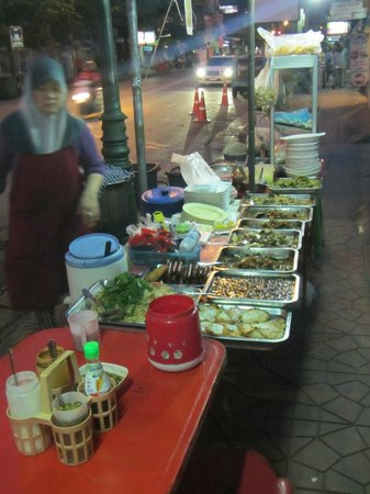 Fortville Guesthouse : Hawker Food