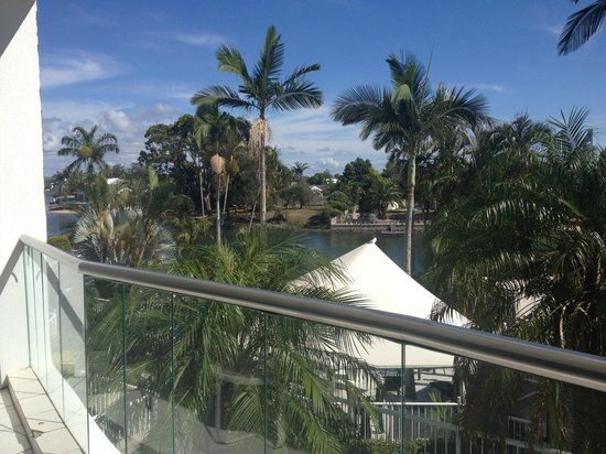 ARC Resort: Sunny view from 2F