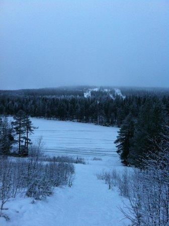Lapland Hotel Bear's Lodge: Возле отеля