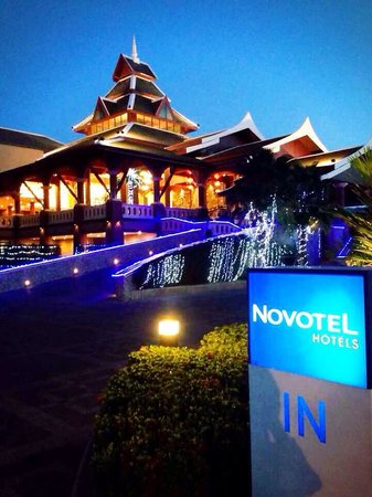 Novotel Phuket Vintage Park : Night time