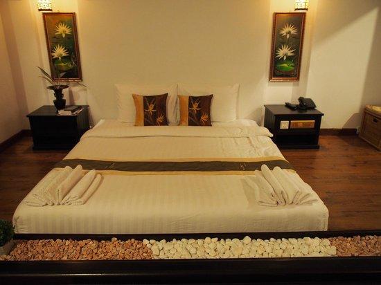 Vimean Sovannaphoum Resort : Chambre rdc
