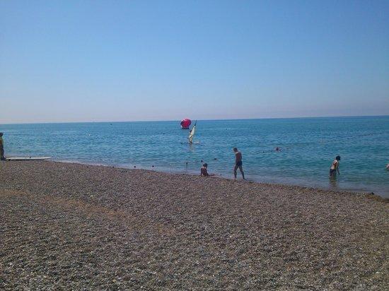Grand Prestige Hotel & Spa: Пляж